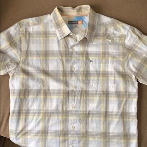 Quicksilver button down polo
